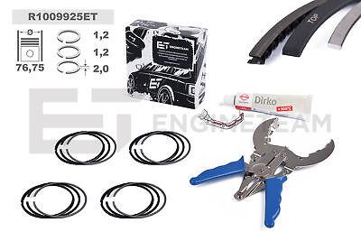 4x Anillos Juego de Reparación +0,25 MM VW Audi Skoda Seat 1,4 1,6 TSI TFSI Caxa