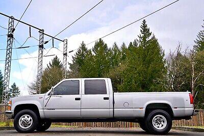 1996 Chevrolet C/K Pickup 3500 Silverado 1996 Chevrolet Silverado C/K 3500 Crew Cab 4DR Dually 4X4 Pickup 115,000 Mies