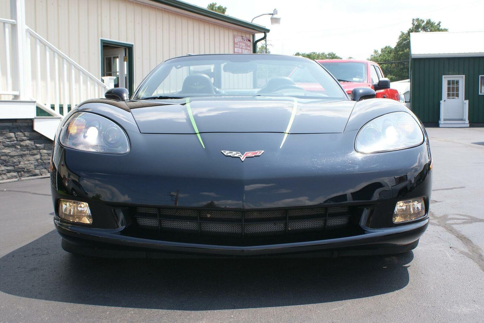 2008 Black Chevrolet Corvette   | C6 Corvette Photo 5