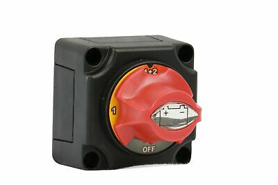 WirthCo 20393 Battery Doctor Rotary Dial Disconnect Switch Rotary Dial Switch