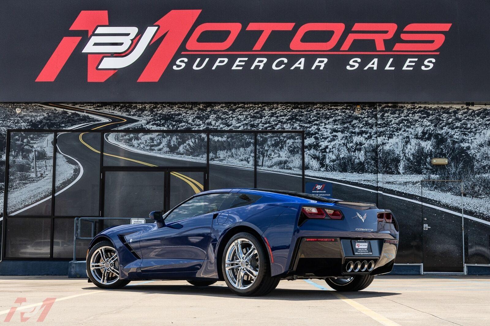 2017 Blue Chevrolet Corvette  2LT | C7 Corvette Photo 2