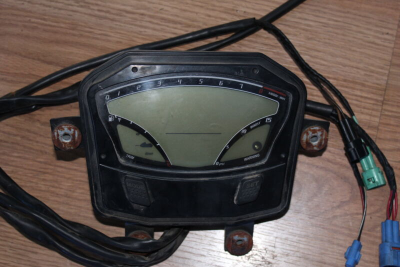 2011 Kawasaki Jet Ski Ultra 300X JT1500 OEM SPEEDO TACH GAUGES DISPLAY CLUSTER
