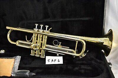 Jupiter JTR-600 Trumpet, case, Plays great, good starter student horn #5AF6