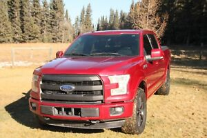 2016 Ford F-150 lariat tech package, auto park