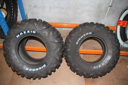 New (Unused) Maxxis Bighorn Tyres to suit RZR Polaris