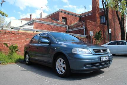 Holden Astra Sedan - Manual, Low Kms, great first car! South Yarra Stonnington Area Preview