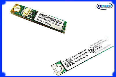 NEW DELL WIRELESS 365 BLUETOOTH CARD for INSPIRON 1440 1545 1546 1564 1750 RM948