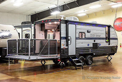 New 2019 Limited 19RR Lite Lightweight Travel Trailer Toy Hauler For Sale Cheap