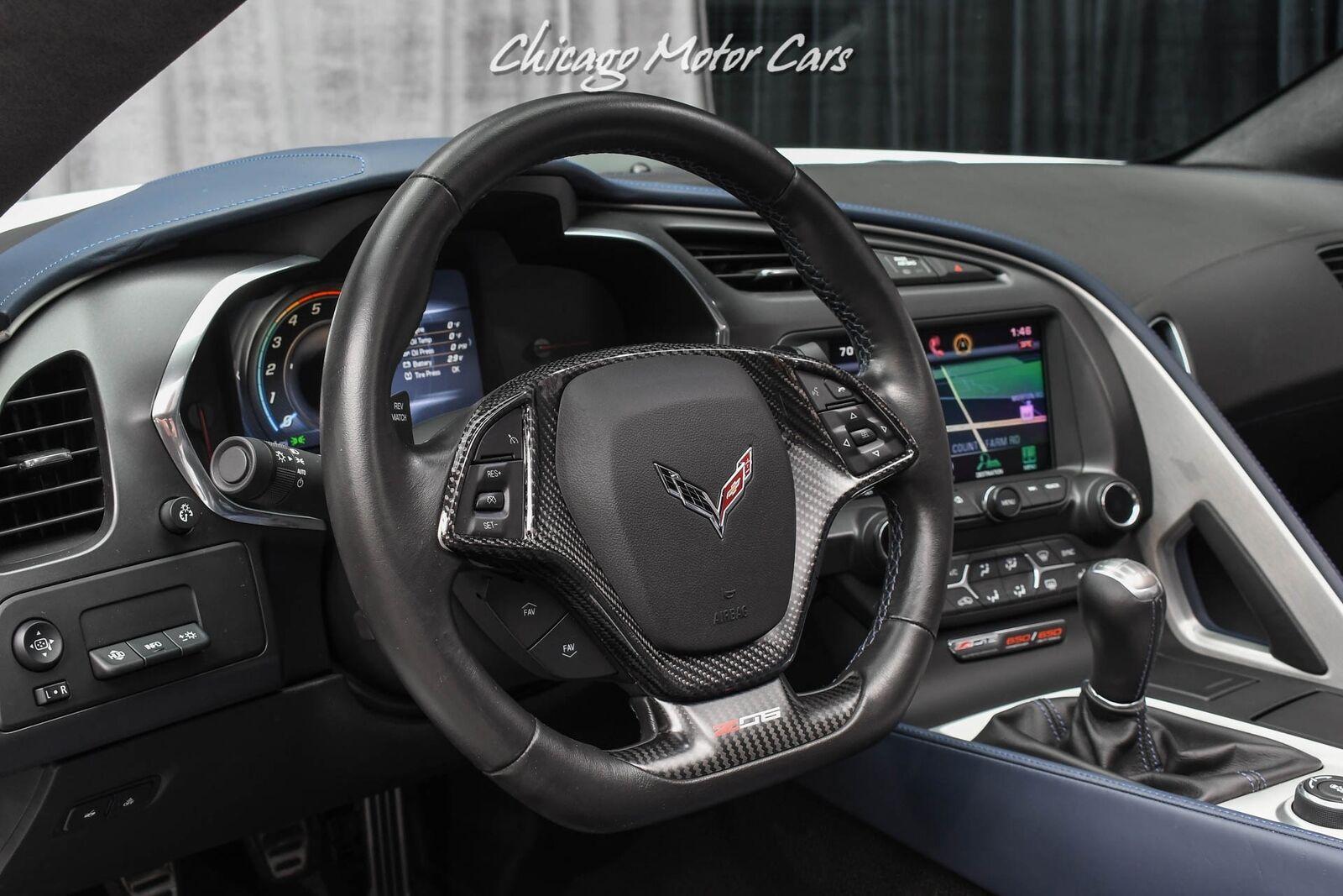 2015 White Chevrolet Corvette Z06 3LZ | C7 Corvette Photo 10