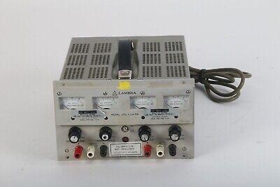 Lambda Lpd-422a-fm Dual Regulated Power Supply Analog Display 0-40 Vdc
