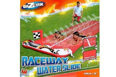 BESTWAY Wasserrutsche 488 cm für 2 Personen Wasser Rutsch Bahn Rutsche Sommer