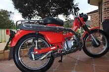 Honda CT110 (ADR) Post Bike Elermore Vale Newcastle Area Preview