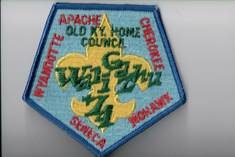 1974 Old Kentucky Home Council patch