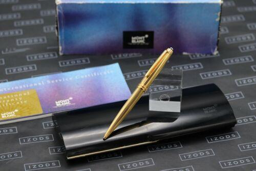Montblanc Meisterstuck 164 Classique AG925 Solitaire Vermeil Ballpoint Pen