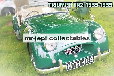 Triumph  TR2  1953-55   Fridge Magnet 90 mm  x 60 BUY UP TO 3 Mix No EXTRA P&P