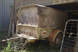 Old Wooden Trailor with Pontiac Rims Colo Heights Hawkesbury Area Preview