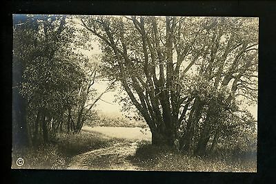 Maine ME Vintage real photo postcard RPPC McDougall & Keefe Boothbay Harbor