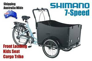 Front Loading Grandma Trike Adult Tricycle Cargo Bike Shimano 7SP Kings Park Blacktown Area Preview