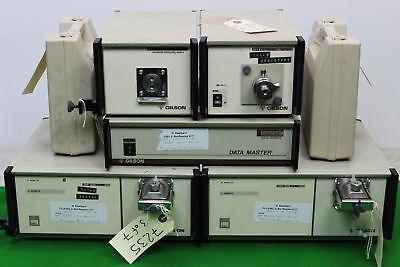 Gilson Hplc System Modules Data Master 621 Pumps 306 Dynamic Mixer 811b More