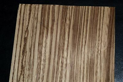 Zebrano Wood Veneer Sheets 6 X 32 Inches 142nd Thick   Mar8636-26