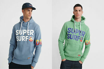 Superdry Mens Undercurrent Cross Over Hoodie