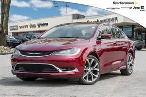 2016 Chrysler 200 C+NAV+ROOF+LDED