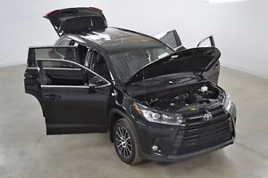 2017 Toyota Highlander SE 4WD GPS*Cuir*Toit*Camera Recul* 7 Pass