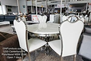 BRAND NEW Dining Table Sets ON CLEARANCE SALE FOR LIMITED TIME Punchbowl Canterbury Area Preview