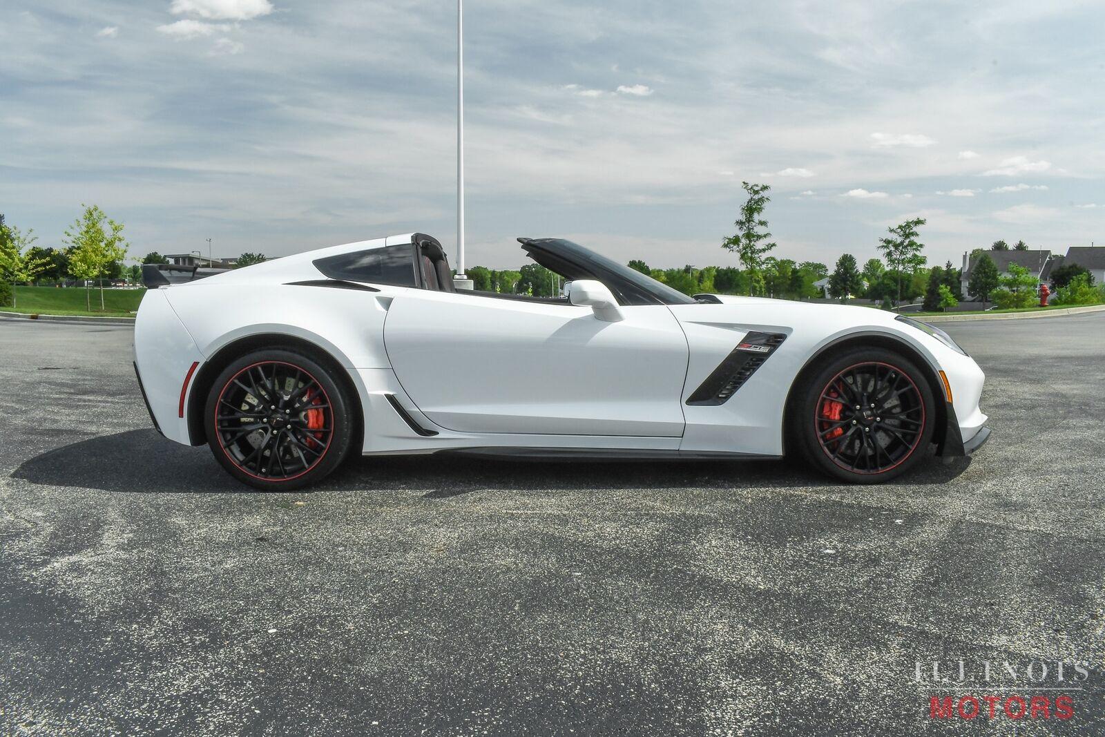 2017 White Chevrolet Corvette Z06    C7 Corvette Photo 7