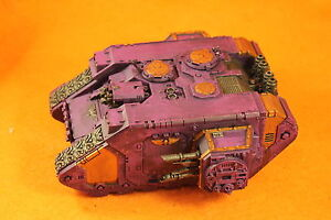 Warhammer 40K Pre heresy Emperors Children army Painted