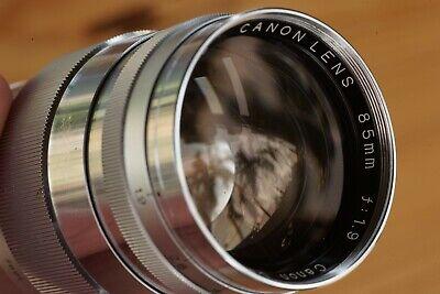 Canon LTM M39 85mm f1.9 lens
