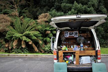 Campervan Toyota Hiace 2001 PRICE DROP Good Condition with rego