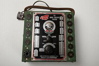 Seco Vt Grid Circuit Tester M3l Model Gct-8 Working Tube Green Eye