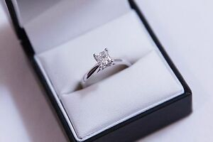 18ct White Gold Princess Cut Diamond Ring Melbourne CBD Melbourne City Preview