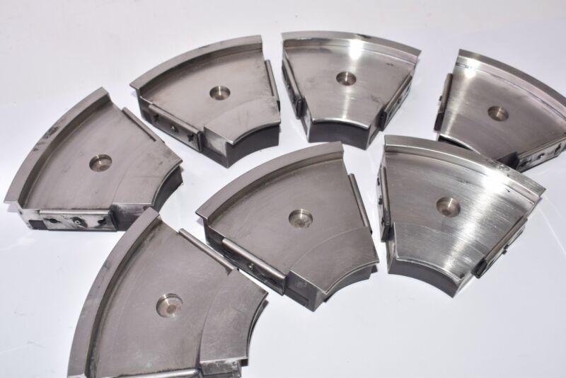 Lot of 7, Thrust Bearings, 7 Unit, Boiler, Circule Pump Thrust Shoes