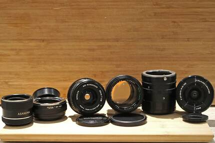 3 Vintage Lenses and Adapters for Sony E Mount + Free Lens!