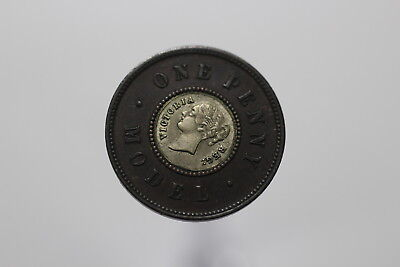 UK GB MODEL PENNY VICTORIA WITH SILVER INSERT BETTER ON HAND B10