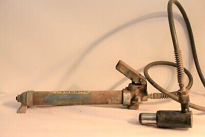 Enerpac Porta Power Hand Pump Hydraulic Jack Press   5g