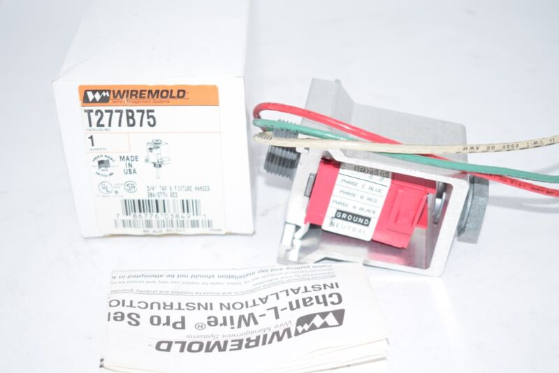 NEW Wiremold T277B75 3/4