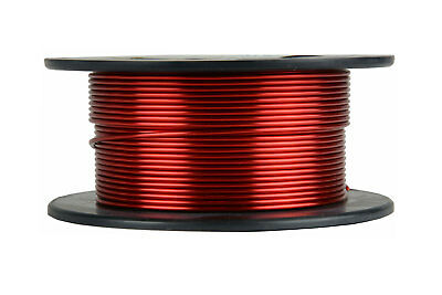 Temco Magnet Wire 15 Awg Gauge Enameled Copper 4oz 155c 25ft Coil Winding