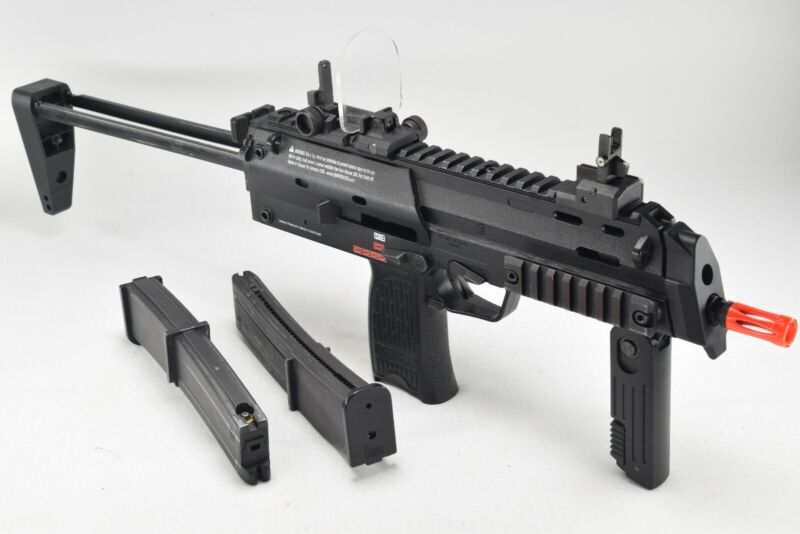 Umarex KWA HK Mp7 6mm *SEE PICS* GBB Gas Blowback Gun w/ Two(2) GAS/Combo Mags