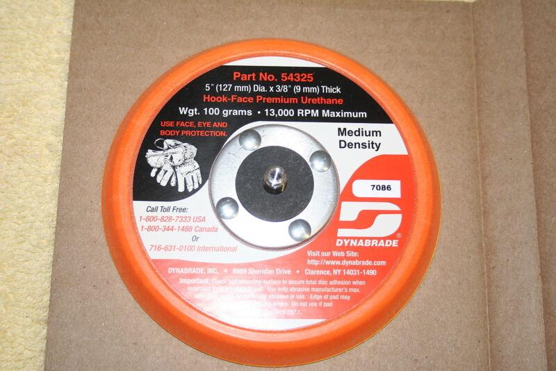 "Dynabrade 5"" 54325 Random Orbital Sanding Backup Pad Hook And Loop pad"
