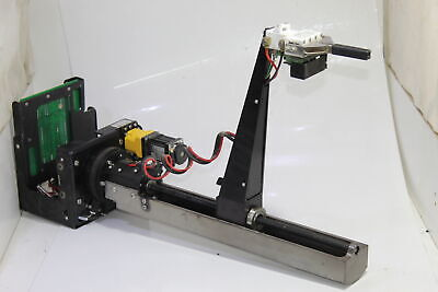 Siemens Sample Manager Robot Head Carriage Unit Gripper Arm Gear Motor
