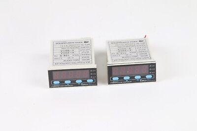 Lot Of 2 Toflo Mec100pm Multi Electric Flow Controller