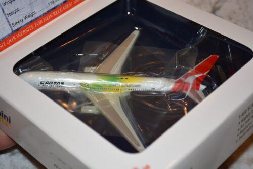 """Gemini Jets GJQFA472 1/400 Scale Qantas 767-300, """"Socceroos"""" Livery, VH-ZXB, NIB"""