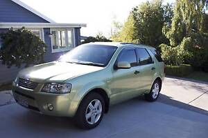 2004 Ford Territory Ghia (LPG) Wagon Howrah Clarence Area Preview