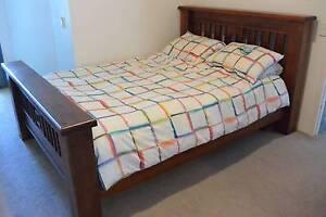 Queen SETTLER bed + Sleepy Mattress PICK UP ONLY Brisbane City Brisbane North West Preview