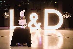 MAK Events - Marquee Light Up Letters and Numbers Melbourne CBD Melbourne City Preview