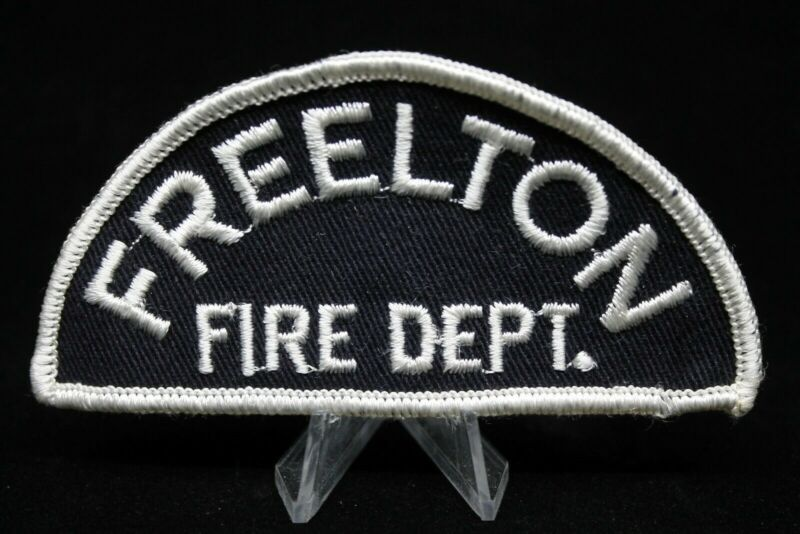 Canadian Freelton Fire Patch