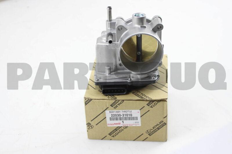 2203031010 Genuine Toyota Body Assy, Throttle W/motor 22030-31010